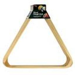 Wood Triangle Billiard Ball Rack