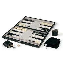 "Click here to learn more about the Mainstreet Classics Classic 18"" Backgammon Set."