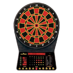 Click here to learn more about the Arachnid CricketMaster 300 Electronic Dartboard.