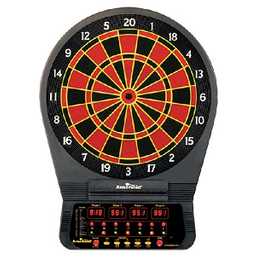Click here to learn more about the Arachnid CricketPro 650 Electronic Dartboard.