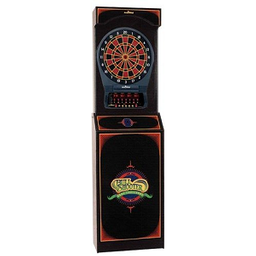 Click here to learn more about the Arcade-Style Cabinet with Arachnid CricketPro 650 Electronic Dartboard.