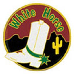 Award Pins - White Horse