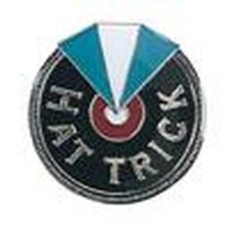 Award Pins - Hat Trick