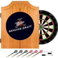 Click here to learn more about the Miller Genuine Draft Dart Cabinet Including Darts and Dart Board.