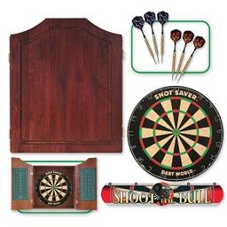 Click here to learn more about the Dart World Mahogany Darts Kit.
