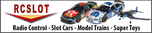 Shop RC Slot for slot cars, model trains and super toys!