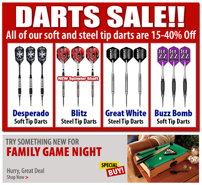 Darts on Sale