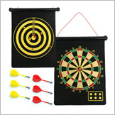 Magnetic Roll Up Dartboard with Darts