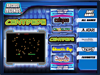Arcade Legends 3 Custom Menu