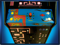 Ms. Pac-Man / Galaga Authentic Arcade hardware