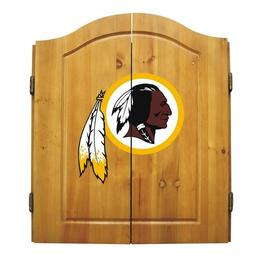 Click here to learn more about the Washington Redskins NFL Dart Cabinet With Darts and Dartboard.