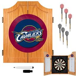 Click here to learn more about the Cleveland Cavaliers NBA Wood Dart Cabinet Set.