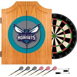 Click here to learn more about the Charlotte Hornets NBA Wood Dart Cabinet Set.
