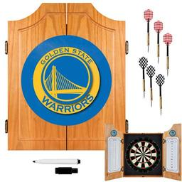Click here to learn more about the Golden State Warriors NBA Wood Dart Cabinet Set.