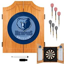 Click here to learn more about the Memphis Grizzlies NBA Wood Dart Cabinet Set.