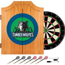 Click here to learn more about the Minnesota Timberwolves NBA Wood Dart Cabinet Set.