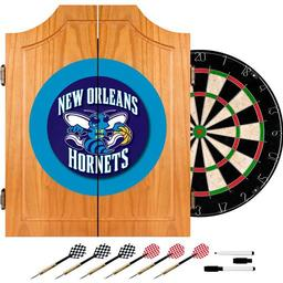 Click here to learn more about the New Orleans Hornets NBA Wood Dart Cabinet Set.