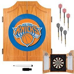 Click here to learn more about the New York Knicks NBA Wood Dart Cabinet Set.