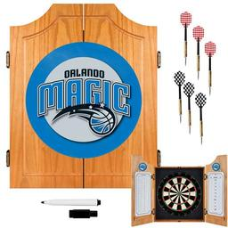 Click here to learn more about the Orlando Magic NBA Wood Dart Cabinet Set.