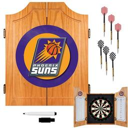 Click here to learn more about the Phoenix Suns NBA Wood Dart Cabinet Set.