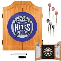 Click here to learn more about the Sacramento Kings NBA Wood Dart Cabinet Set.