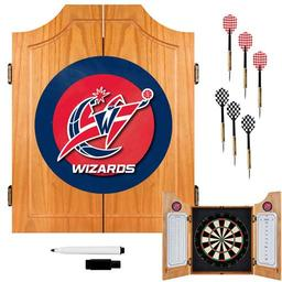 Click here to learn more about the Washington Wizards Beveled Wood Dart Cabinet.