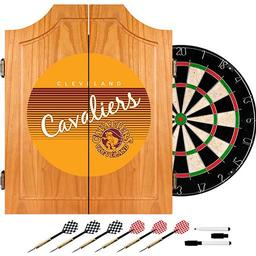 Click here to learn more about the Cleveland Cavaliers Hardwood Classics NBA Wood Dart Cabinet.