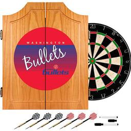Click here to learn more about the Washington Bullets Hardwood Classics NBA Wood Dart Cabinet.