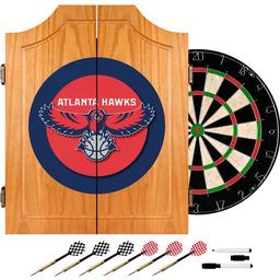 Click here to learn more about the Atlanta Hawks NBA Wood Dart Cabinet Set.