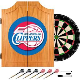 Click here to learn more about the Los Angeles Clippers NBA Wood Dart Cabinet Set.