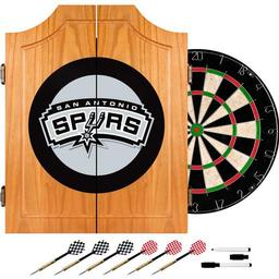 Click here to learn more about the San Antonio Spurs NBA Wood Dart Cabinet Set.
