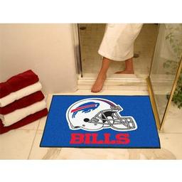"Click here to learn more about the Buffalo Bills All-Star Mat 33.75""x42.5""."