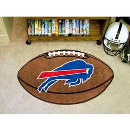 "Click here to learn more about the Buffalo Bills Football Rug 20.5""x32.5""."