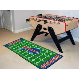 "Click here to learn more about the Buffalo Bills Runner 30""x72""."