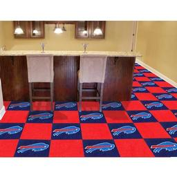 "Click here to learn more about the Buffalo Bills Carpet Tiles 18""x18"" tiles."
