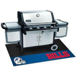"Click here to learn more about the Buffalo Bills Grill Mat 26""x42""."