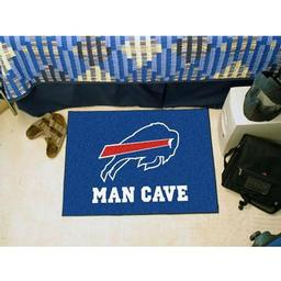 "Click here to learn more about the Buffalo Bills Man Cave Starter Rug 19""x30""."