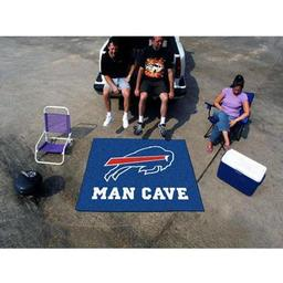 Click here to learn more about the Buffalo Bills Man Cave Tailgater Rug 5''x6''.