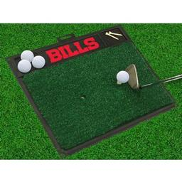 "Click here to learn more about the Buffalo Bills Golf Hitting Mat 20"" x 17""."