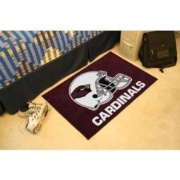 "Click here to learn more about the Arizona Cardinals Starter Rug 20""x30""."