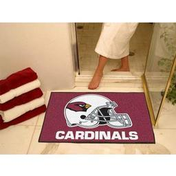 "Click here to learn more about the Arizona Cardinals All-Star Mat 33.75""x42.5""."