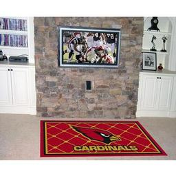 Click here to learn more about the Arizona Cardinals Rug 4''x6''.