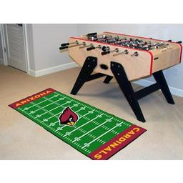 "Click here to learn more about the Arizona Cardinals Runner 30""x72""."