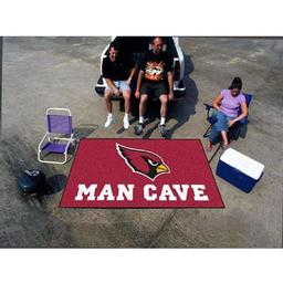 Click here to learn more about the Arizona Cardinals Man Cave UltiMat Rug 5''x8''.