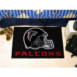 "Click here to learn more about the Atlanta Falcons Starter Rug 20""x30""."