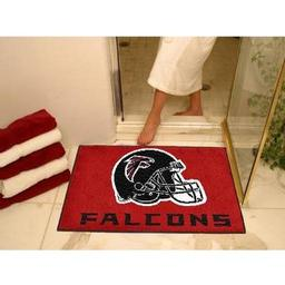 "Click here to learn more about the Atlanta Falcons All-Star Mat 33.75""x42.5""."