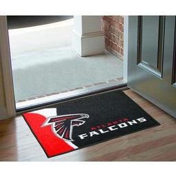 "Click here to learn more about the Atlanta Falcons Uniform Inspired Starter Rug 20""x30""."