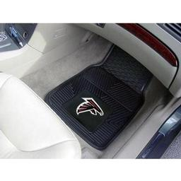 "Click here to learn more about the Atlanta Falcons Heavy Duty 2-Piece Vinyl Car Mats 17""x27""."