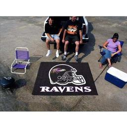 Click here to learn more about the Baltimore Ravens Tailgater Rug 5''x6''.