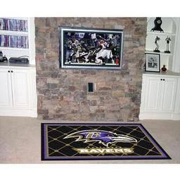 Click here to learn more about the Baltimore Ravens Rug 5''x8''.